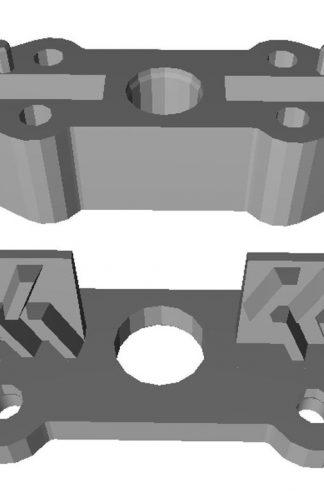 Замок ремня привода Fermator (Eagle) 55х23х21