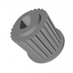 Зубчатый приводной шкив привода дверей Kone 43х36х15