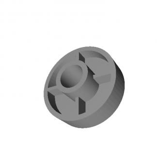 Ролик замка ДШ Fermator Dвн=10 мм. 33x14