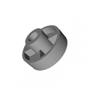 Ролик замка ДШ Fermator Dвн=8 мм. 33x17