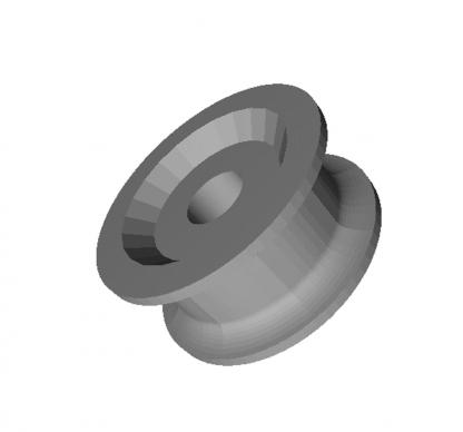 Ролик эксцентриковый Fermator D=30 мм. 33x15