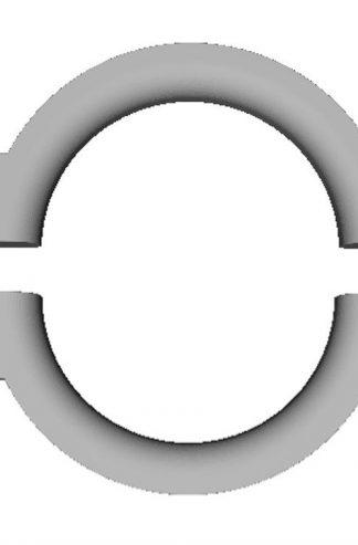 Успокоитель цепи противовеса 200х25х130 (кольцо)