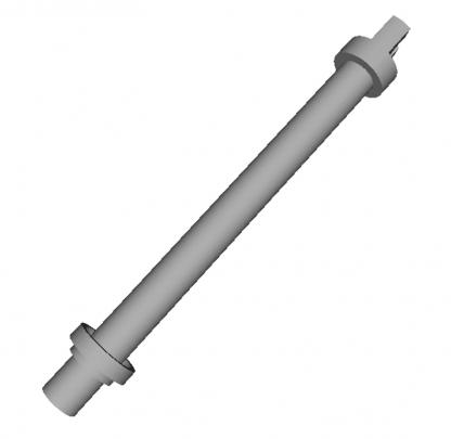 Шток + втулка отводки Wittur Hydra L=114 мм d=9.5 мм