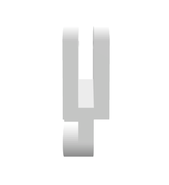 Качалка отводки KONE72х24х20 мм