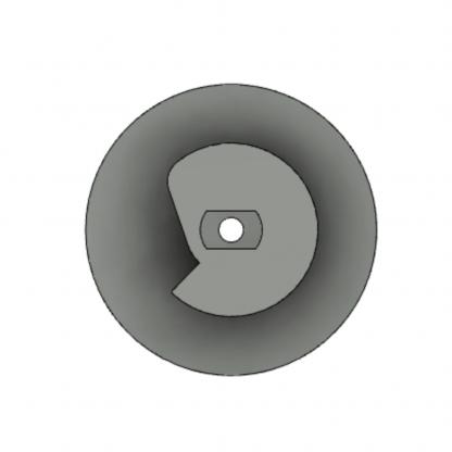Ручка переключения электромагнитного автомата 360А D=35 мм