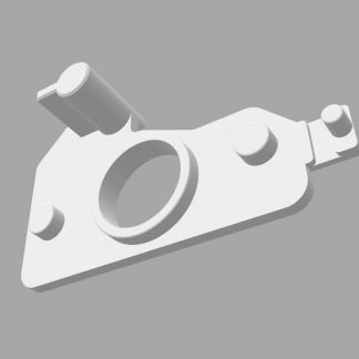 Качалка fermator 80x45x24 мм orona